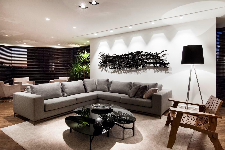 6 Dicas Para Escolher A Ilumina O Correta Para Sua Casa Blog Da  -> Luminarias De Parede Para Sala De Estar